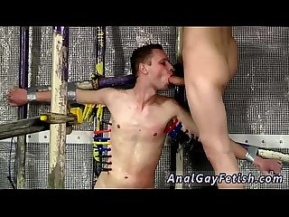 Hunky model blow job gay sex feeding aiden a 9 inch cock