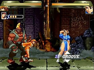 Mugen ep 25 gangbang chun li S fucked in the alley