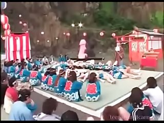 Strange japanese sex festival watch more at teenandmilfcams period com