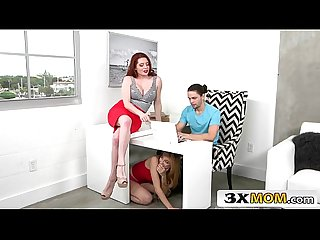 Gorgeous stepmom offers young couple a sex lesson lolo punzel veronica vain