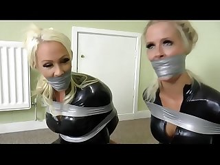 Cat burglars bound & gagged
