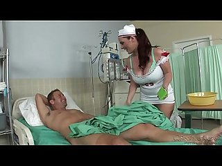 the nurse sophie dee in action