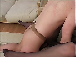 Hot nylon fuck