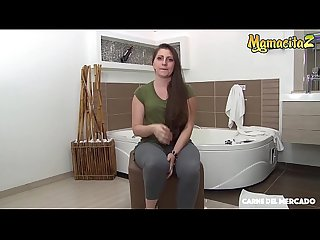 MAMACITAZ - Latina Babe Lucena Palacios Gets Tricked By Persuasive Guy