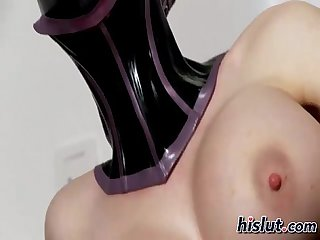 Latex stuffed herself