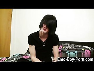 Free mobile cute gay emos sucking cock Hot dutch emo stud Aiden flew