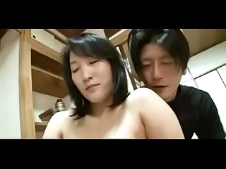44yr old japanese step mom squirts and creampied