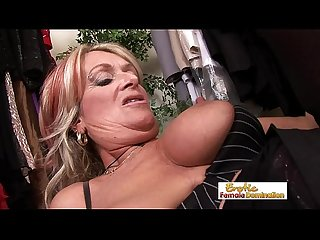 Milf satisfies her Thirst with a big cock and a hard fuck