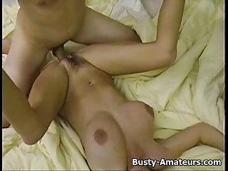 Hot blonde chick Mary getting railed behind