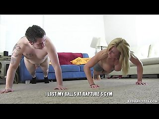 I lost my balls at Rapture S gym ballbusting