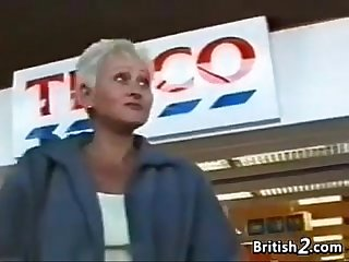 Blonde grandma from britain wants cock