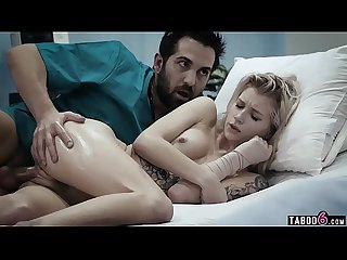 Teen patient fucked by her dirty doctor in the hospital