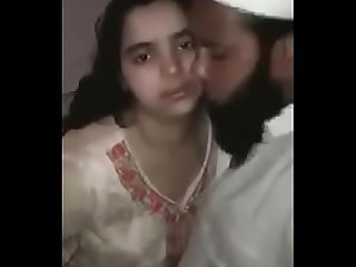 muslim man scandle with young girl kissing