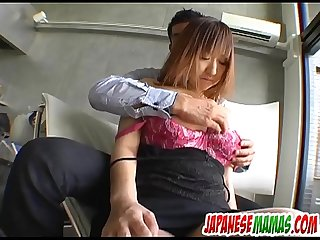 Special POV cock sucking xxx with busty Mayumi - More at Japanesemamas com