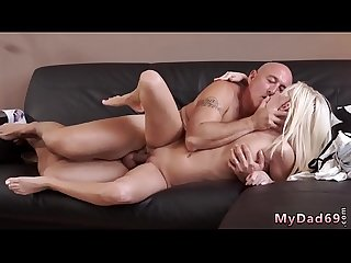 Young girl big tits fucking old man first time horny blond wants to
