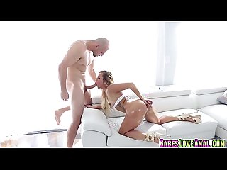 Kelsi moores Anal fills with jmacs cock