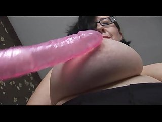 Big tits mature bbw in maids uniform toys herself