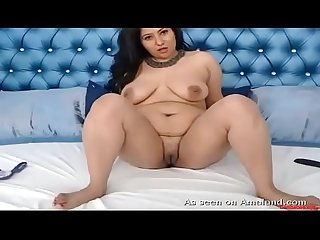 Big ass Desi solo masturbates