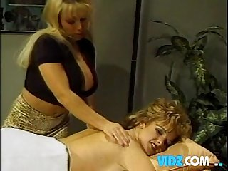 Lesbian massage big boobs blondes