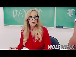 Horny teacher brandi love gets fucked by disapproved student
