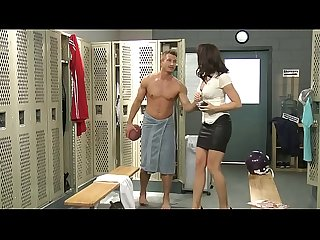 Chanel Preston fucked in locker room