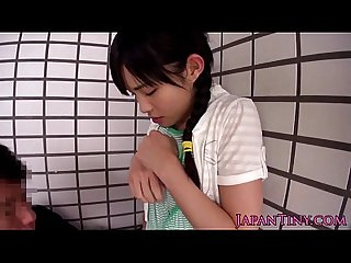 Innocent asian teens ass and pussy fingered