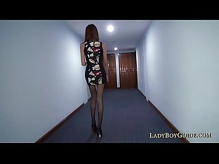 Ladyboy wants your cock up her back pussy