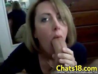 Mujer perfecta Mamada perfecta Madura comiendo verga grande