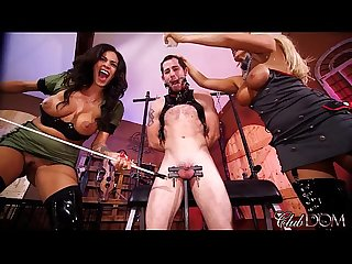 Jamie valentine Olivia fox enjoy slave milking day