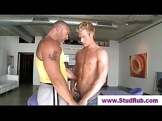 Straight guy gets very uneasy about horny gay masseur