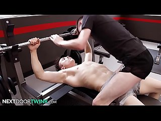Horny Twink Fucked By Personal Trainer At Gym - NextDoorTwink