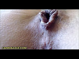 Waterfall squirting milf