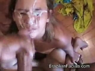 Messiest facial cumshot humiliations 1
