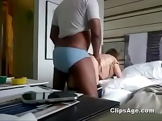 Indian guy fucking his aussie director wife (new)