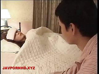 Horny Mom and son wake up Sex