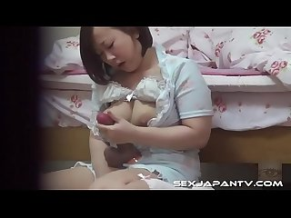 Beautiful Chubby Japanese Caught Masturbating