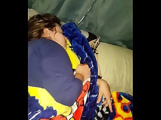 Fucking my hot milf wife while she s Sleeping