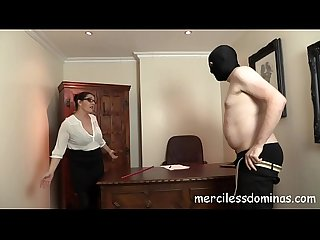French lesson strict teacher with cane