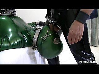Latex sex slave