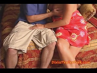 Milf mom tells son its time to fuck her