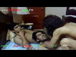 Desi hot college girl drink and enjoy group sex with 3 friends forced