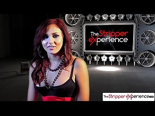 The stripper experience ariana marie strip down and suck a huge cock