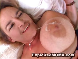 Chubby Mom takes on a Black cock in interracial Video