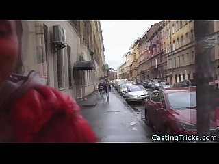 Fake casting with fresh russian talent