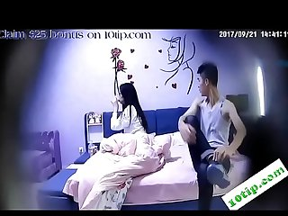Korean student clip sex in hotel lpar New rpar