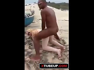 Fucking her American And Teen Albino Ice On The Beach PART 1 - XTUBEUP.COM