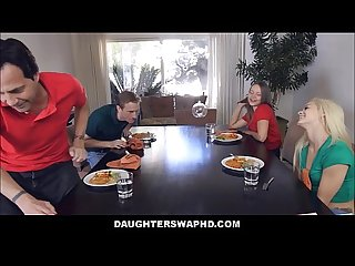 Two Dad's Swap Fuck Their Daughters