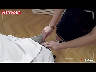 Russian Teen Arwen Gold seduced and fucked by Czech guy