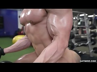 gay sex in gym
