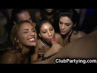 Party Latinas get facials